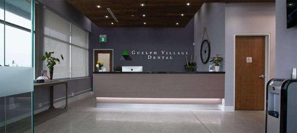 dental office reception to guelph village dental office reception tour our office