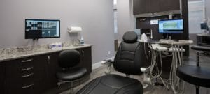 Guelph Village Dental operating room