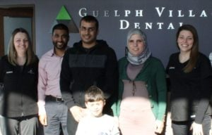 Guelph Village Dental Team provides dentals services to Syrian families