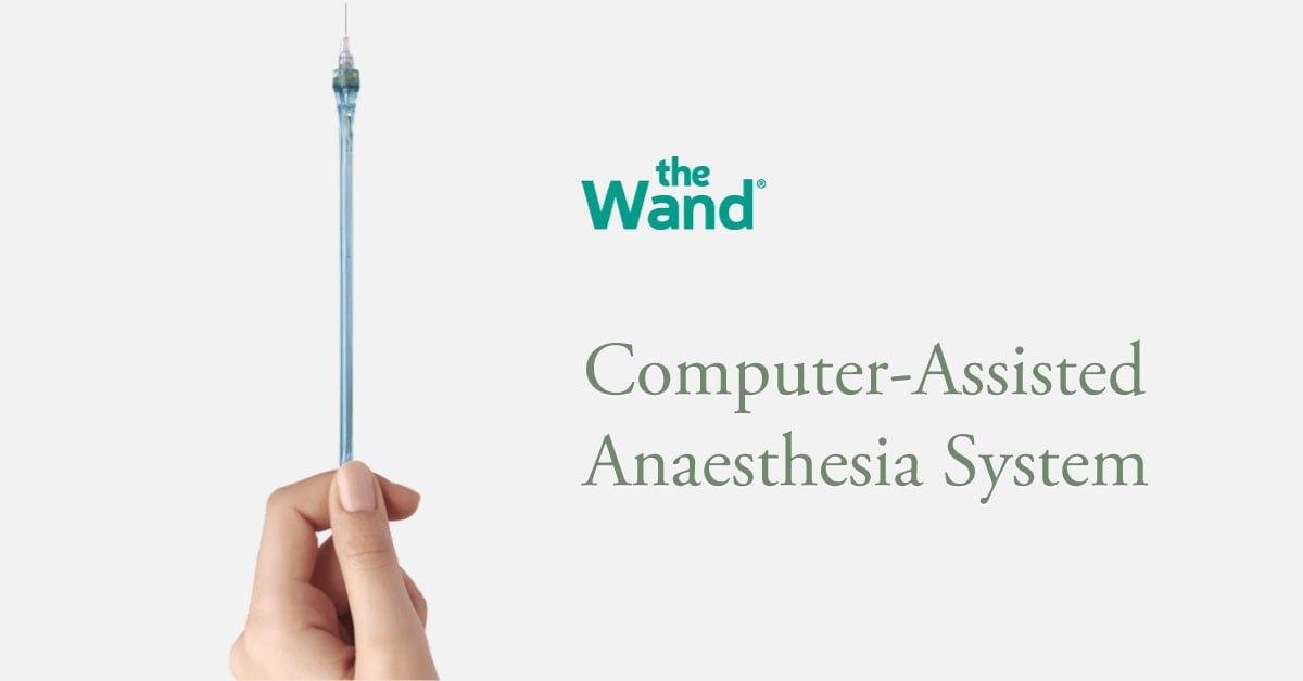 The Wand® dental anaesthesia tool